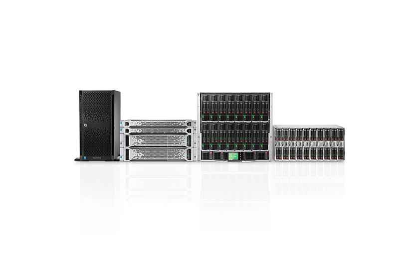 مروری بر انواع سرورهای ارائه شده در شرکت HP