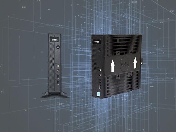 کامپیوتر کوچک   تین کلاینت دل وایز 7010   تین کلاینت Dell Wyse 7010